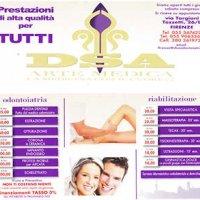 Distribuzione volantini DSA ARTE MEDICA Firenze e Campi Bisenzio