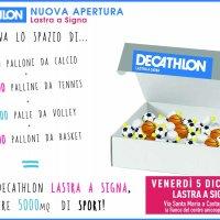 CST all'inaugurazione del punto vendita DECATHLON a Lastra a Signa