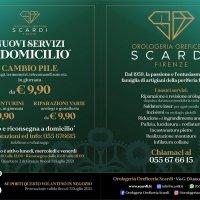 Orologeria Gioielleria Scardi a Firenze propone un nuovo servizio a domicilio